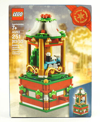 2018 Lego 40293 Holiday Christmas Carousel 6215191 Limited Edition NEW