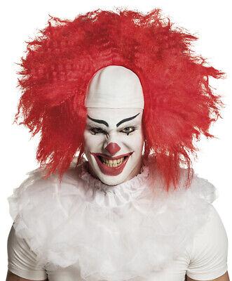 Haare und Stirn-Glatze Horror Killer Verrückter Halloween Es (Glatze Perücke)