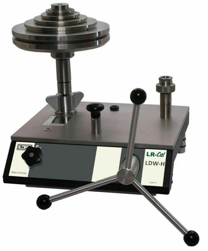 LR-Cal LDW-H Hydraulic Deadweight Tester Pressure Balance 20300 PSI 1400 bar