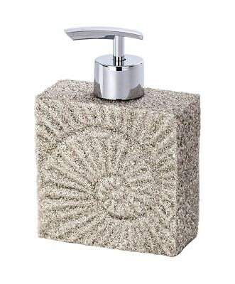 Wenko Fossil Stone-Effect Polyresin Soap Dispenser