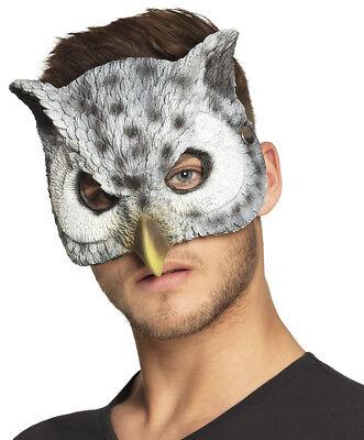 Owl Mask Fancy Dress Costume Bird Face Maske - Owl Mask