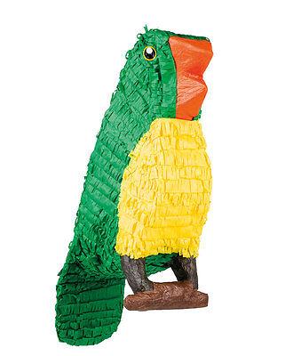 Papagei Vogel Pinata 42x54cm NEU - Partyartikel Dekoration Karneval Fasching