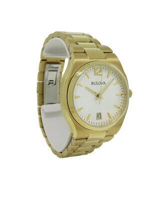 Bulova 97M109 Women's Analog Boyfriend Style Date Stainless Steel Watch