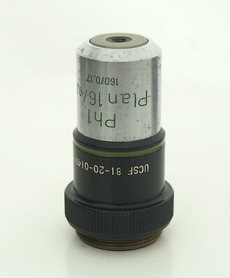 Zeiss Plan 160.35 Ph1 16x Phase Contrast Microscope Objective