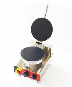 110V Electric Ice Cream Waffle Cone Making Machine (022416)