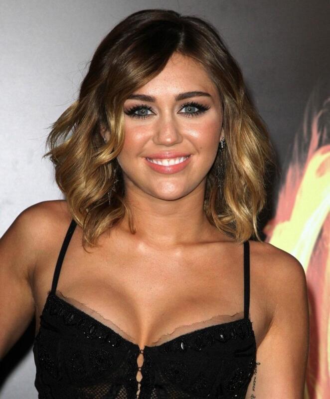 Miley Cyrus Beautiful Short Hair 8x10 Photo Print