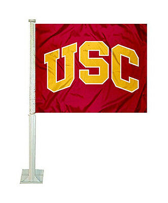 (USC Trojans Tailgating Truck or Car Flag Red)