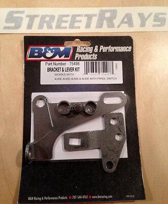 B&M 75498 Automatic Transmission Shift Bracket / Lever Kit 4L60E (Transmission Shift Lever Kit)
