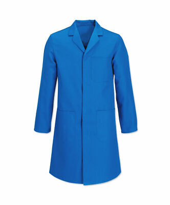 "Men's Light Blue Lab / Warehouse Coat – 92cm (36"")"