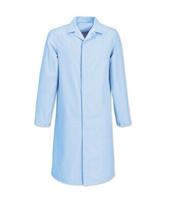 "Men's Sky Blue Lab / Warehouse Coat – 116cm (46"")"