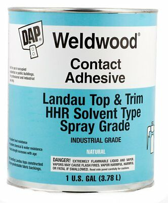 Contact Cement - DAP 00233 Weldwood Contact Cement Landau Top & Trim HHR Solvent Type, 1 Gallon