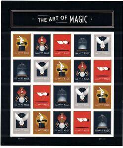 The-Art-Magic-Sheet-of-20-Forever-Stamps-Scott-5305