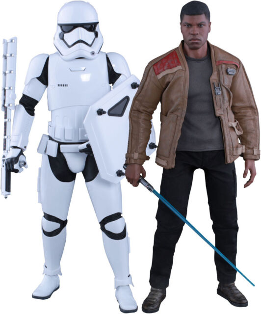 Hot Toys Star Wars Finn And Riot Control Stormtrooper Twin Set 1/6 Figure 902626