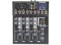 Citronic CM4-DSP Live Mixer Boxed As New