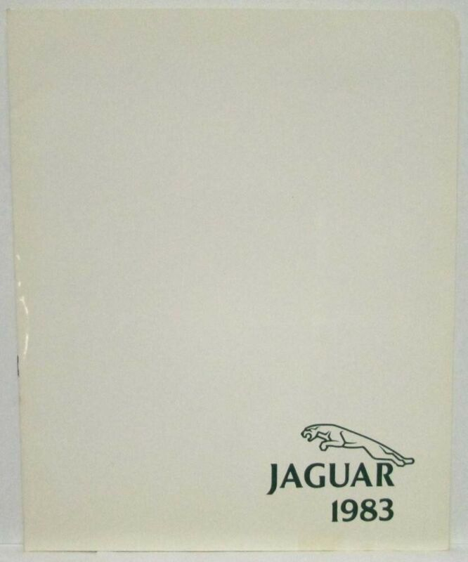 1983 Jaguar XJ6 XJS Vanden Plas Press Kit