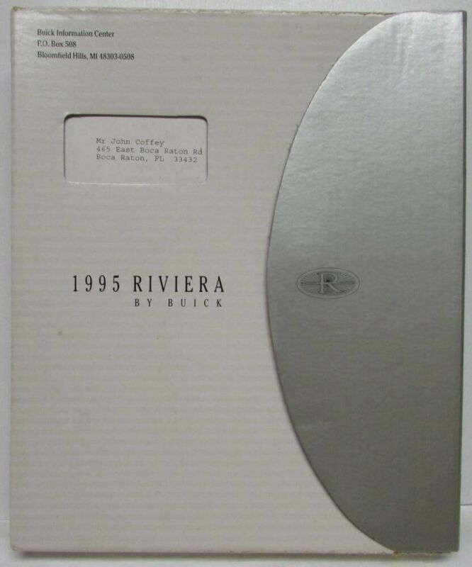 1995 Buick Riviera Press Kit
