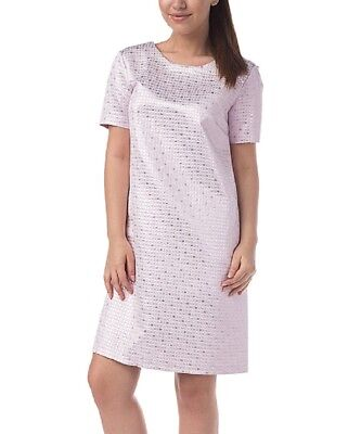 Shift Dress Size UK 14 Ladies Womens Violet Purple Bow Back Design BNWT #B-820
