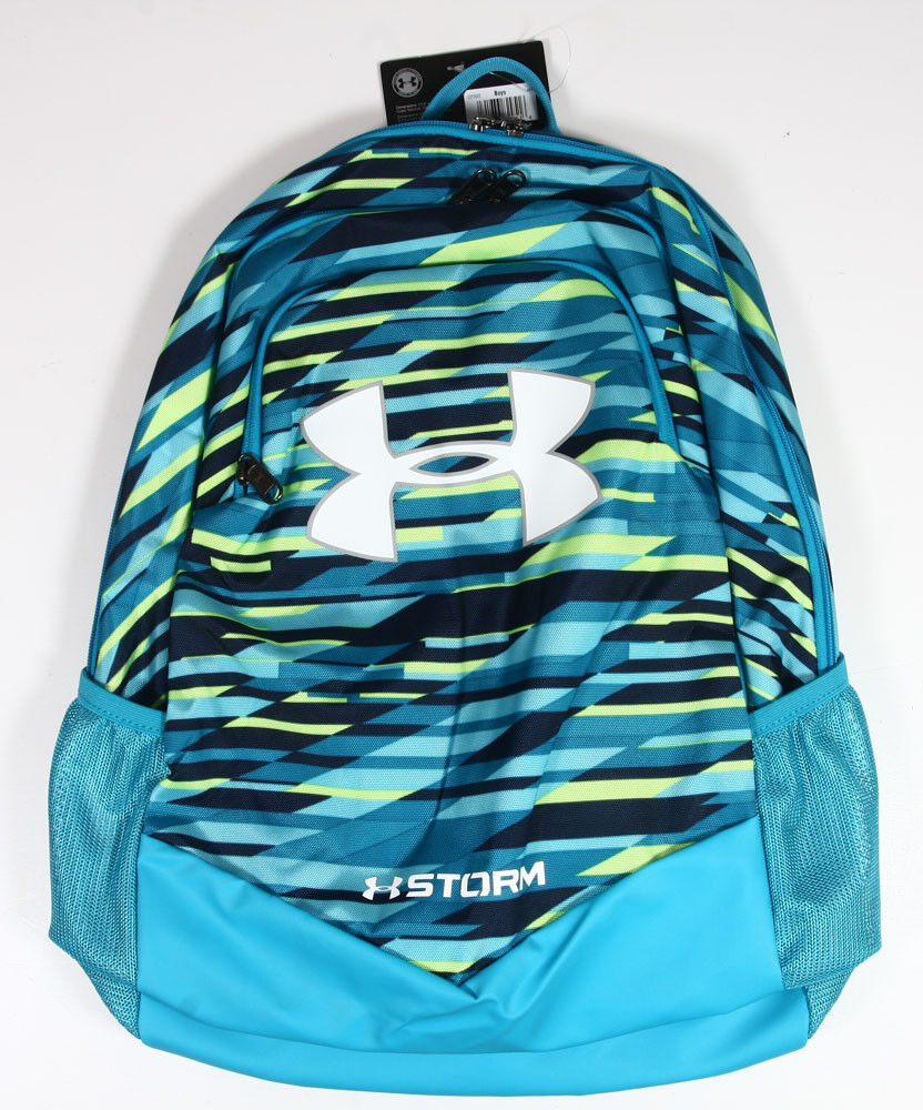 NEW Under Armour Storm Scrimmage Backpack - Venetian Blue /