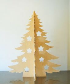 Christmas Tree wooden big Nordic style Modern Alternative