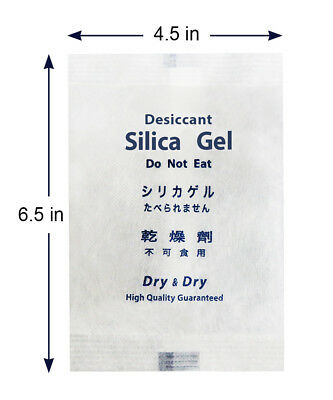 200 Gram X 1 Pk Dry Dry High Quality Reusable Silica Gel Desiccant Packets