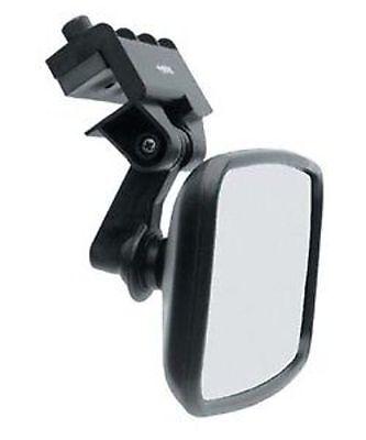 "CIPA 11140 Boating Safety Mirror 4""x8"" Convex Wide Black Water Skiing Marine MD"