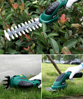 2-in-1 1.5A.h String Trimmer Hedge Cordless Grass Trimmer for Lawn Shrub Cutter