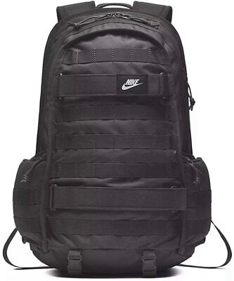 Nike SB RPM Backpack THUNDER GREY DARK BLACK BA5971-069 School Laptop Bag Skate
