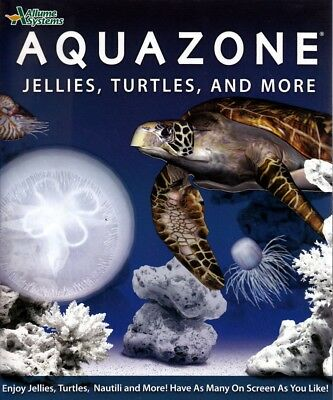Aquazone Jellies Turtles & more Collection-Customize an online exotic fish tank](Turtle Fish Games)