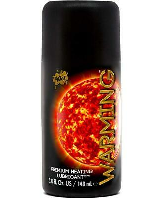 Wet Warming Premium Heating Intimate Personal Pleasant Lubricant 5.0 oz 5 ounce  ()