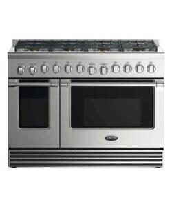 48 Gas Stove, Double Oven, Fisher & Paykel