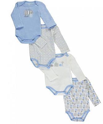 Absorba Infant Boys My Best Friend 5pc S//S Bodysuits Size 0//3M 3//6M 6//9M $32