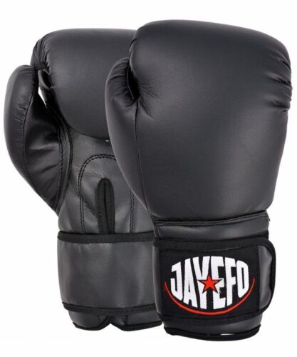 BEGINNERS LEATHER BOXING GLOVES SPARRING GLOVES MUAY THAI KICK BOXING MMA GLOVES
