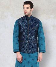 Yepme Printed Nehru Jacket - Purple(YPMNJKT0087)