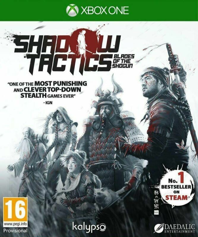 %2A+XBOX+ONE+NEW+SEALED+Game+%2A+SHADOW+TACTICS+Blades+of+The+Shogun