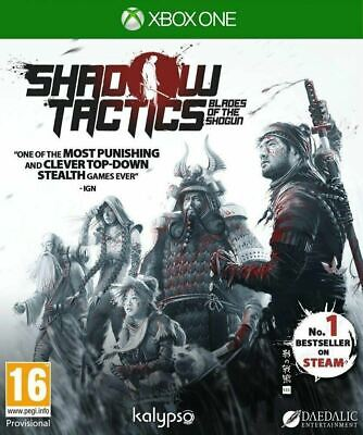 * XBOX ONE NEW SEALED Game * SHADOW TACTICS Blades of The Shogun