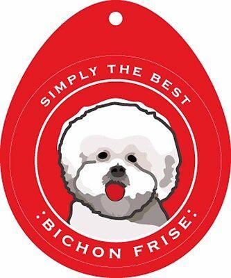 Bichon Sticker - Bichon Frise Sticker 4x4