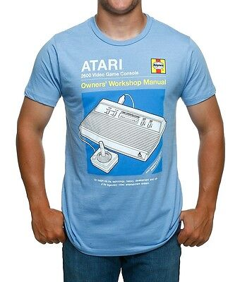 "RETRO Atari ""Manual"" Graphic T-Shirt - Unisex Funny Vintage Gaming Tee (S-XXL)"