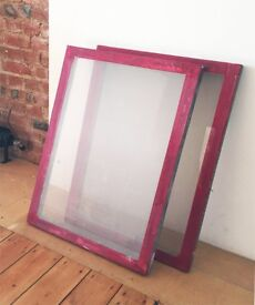 Silk Screen / Screen printing Frames.
