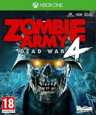 Zombie Army 4 Dead War Xbox One Brand New Factory Sealed