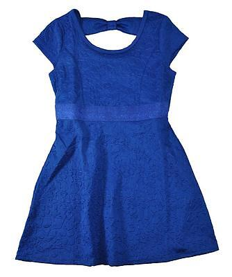 Pogo Club Big Girls Royal Blue Dress W Keyhole Back Size 7 8 10 12 14 16  44
