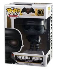 Funko POP! DC Batman vs Superman #90, Superman Soldier, Vinyl Figure