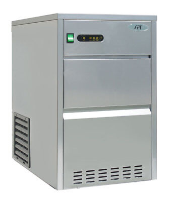 Sunpentown Spt 44 Lbs Automatic Stainless Steel Ice Maker - Im-441c
