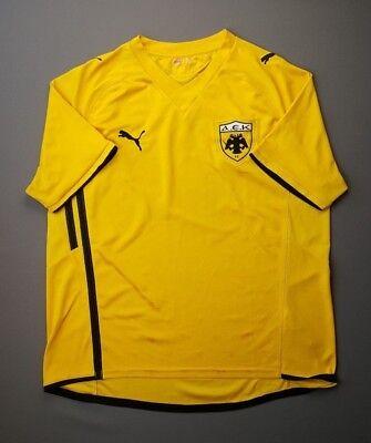 AEK Athens Greece Jersey 2009 2010 Home XL Shirt Mens Football Soccer Puma ig93 image