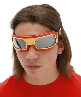 Iron Man Goggles red glasses Marvel adult mens halloween costume accessory