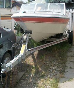 **16.5 Vanguard Motor Boat & Trailer **