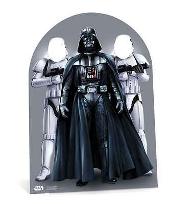 Star Wars Party Photo Stand In Cutout - child size - Darth Vader & - Photo Stand Ins Cutouts