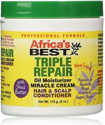 Africa's Best Triple Repair Oil Miracle Cream Hair - Scalp Conditioner 6