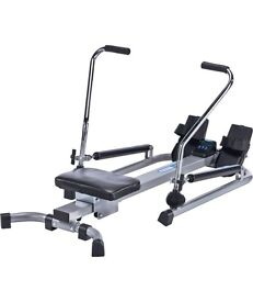 Pro Fitness Dual Hydraulic Rowing Machine