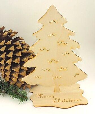 Weihnachtsbaum Tannenbaum Holz 30 cm Jumbo Basteln zu Weihnachten Christmas