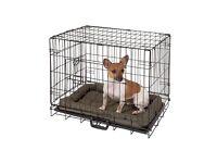 Double door pet cage small